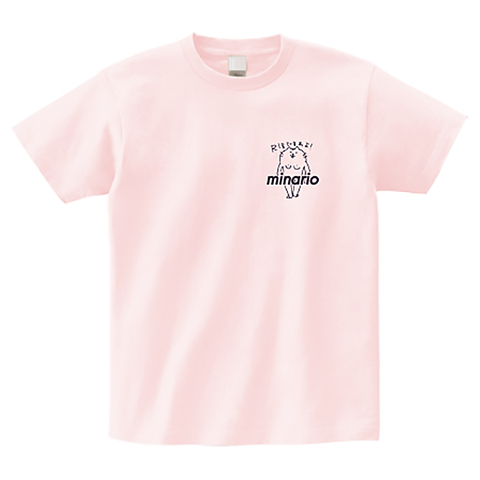 minario / NYAN-2・R18ですわよ! OnePoint T-shirt Light-Pink
