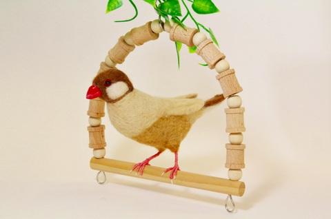 〈文鳥〉 作家:岡島 奈津美 作品