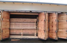 バイオ乾燥機(折り戸式扉型)