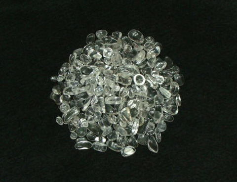 天然水晶さざれ石(ブラジル産)【AA】500g