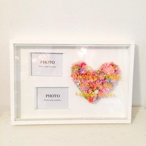 HeartFlower photoframe