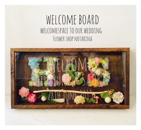 Alphabet WELCOME BOARD t