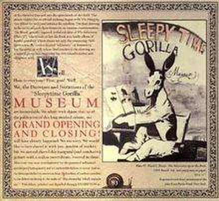 SLEEPY GORILLA MUSEUM - Grand Opening And Closing [デジパック仕様/CD]