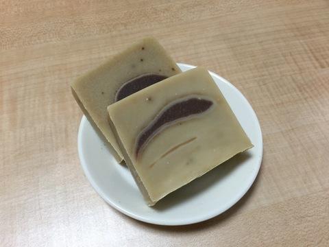 抹茶&あずき&コラーゲンのマルセイユソープ