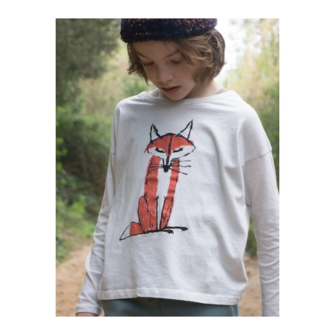 【SALE】50%OFF ☆【BOBO CHOSES】Fox T-shirt  Ref. AW15-043