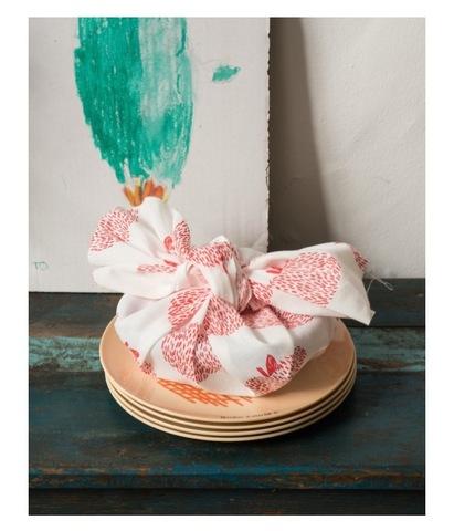 BOBO CHOSES Maison Hand Towel (tenugui) :35 x 92cm