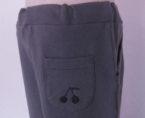 【SALE】60%OFF【Bonpoint】 ボンポワン スエットパンツ#194グレー :10A(130cm)