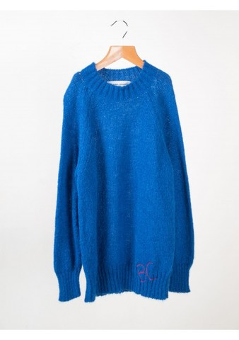 【SALE】50%OFF ☆【BOBO CHOSES 】 ボボショーズ Blue Knit Jumper :132