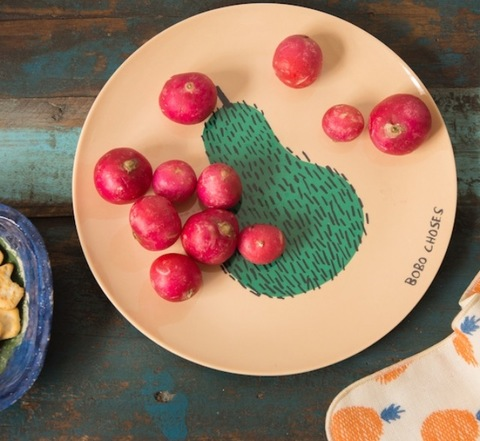 BOBO CHOSES Maison Melamine PlatePlate 追加2月