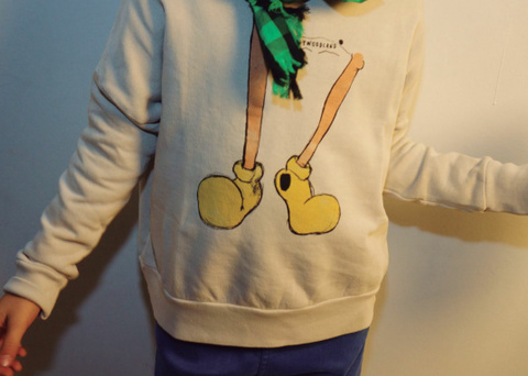 【SALE】50%OFF【BOBO CHOSES】ボボショーズShoes Sweatshirt:48