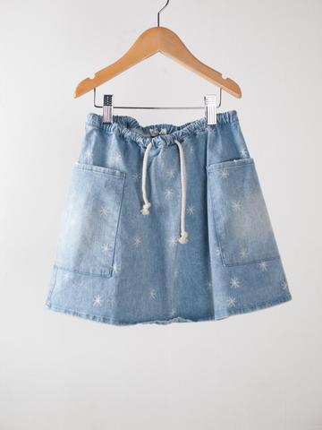【SALE】50%OFF ☆【BOBO CHOSES】Short Skirt Pockets Stars . AW15-104