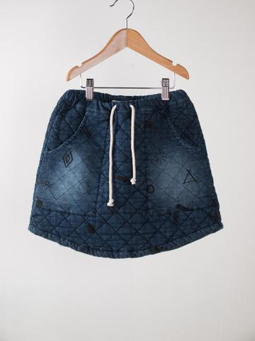 【SALE】50%OFF ☆【BOBO CHOSES】Super Soft Denim Skirt. AW15-92