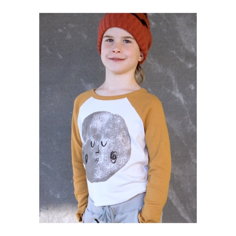 【SALE】50%OFF ☆【BOBO CHOSES】Moon Raglan T-shirt. AW15-057