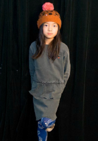 【SALE】50%OFF【BOBO CHOSES 】ボボショーズ Echo Patch Peplum Dress:94 ★50%OFF