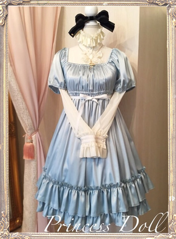 1073-4 Dream Baby Doll(Ice Blue)