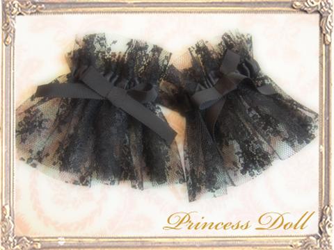pd8043-1チュールお袖留め(Black)
