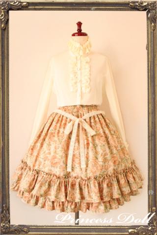 pd2047-2 Candy Flower Skirt (Dandelion)
