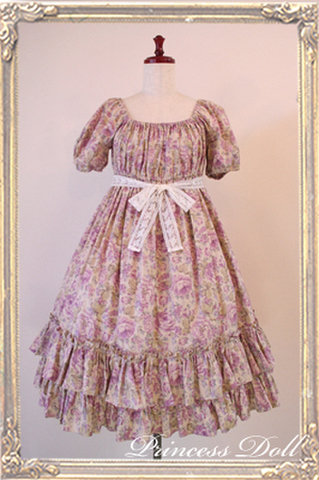 1064-3 Candy flower Baby Doll(Lavender)