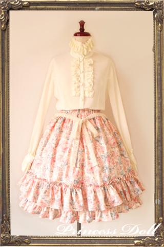 pd2047-1 Candy Flower Skirt (Pink)
