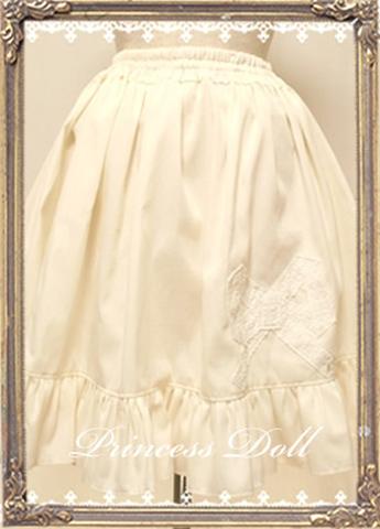 pd8045リボンアンダースカート