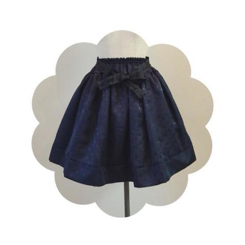 2054-3 Lady Skirt(Navy)