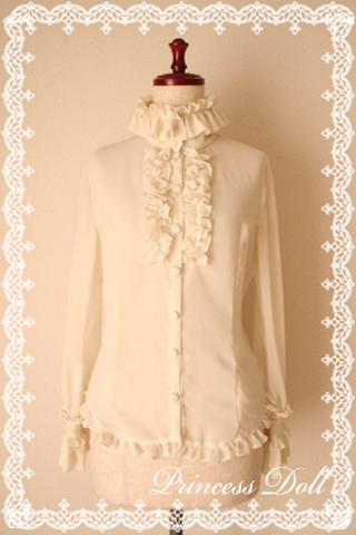 pd3009-1 macherieブラウス(Milk White)
