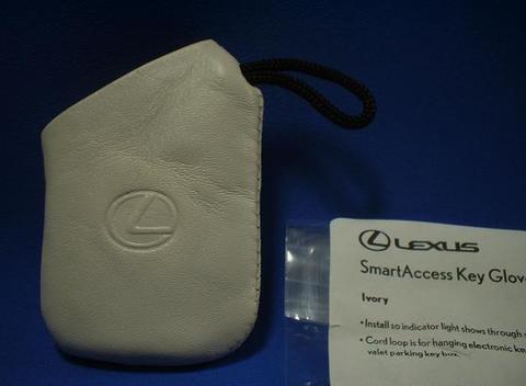2007 LEXUS スマートアクセスキーグローブ(アイボリー)