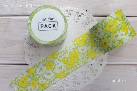 mt for PACK 花柄