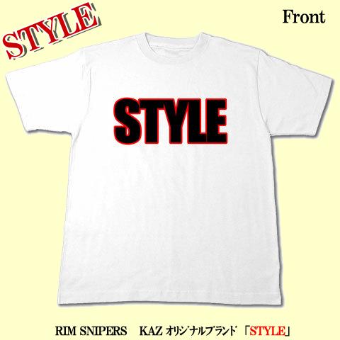 STYLE TEE(ホワイト)