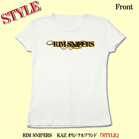 RIM リブクルーネックTシャツ(ホワイト)