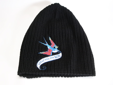 BIG KNIT CAP (SWALLOW)