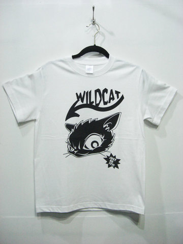 CAT-LOGO S/S tee【WILDCAT】