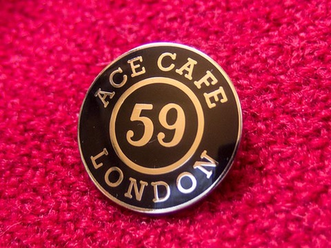 ACE CAFE LONDON & 59 CLUB バッジ