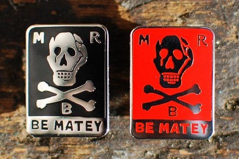 MBR 「BE MATEY」 バッジ