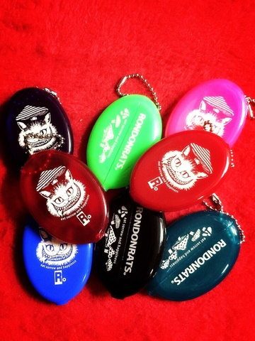 """""""eat sorrow and happiness!""""コインケース (8Color)"""