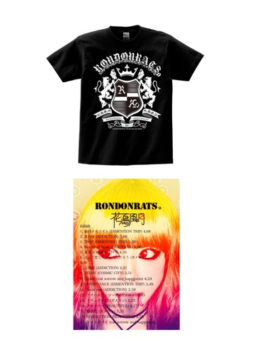 USベスト盤『花鳥風月』&TOUR Tシャツ set ※THANK YOU!! SOLDOUT!!