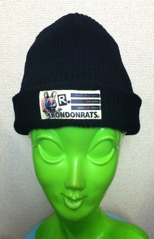 """Live or Die""ニットキャップ(black,navy,light gray) ※navy SOLD OUT!!"