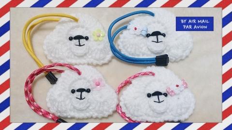 ◆数量限定◆   ☆ぷ~どるちゃん キーホルダ-☆  白(ホワイト)