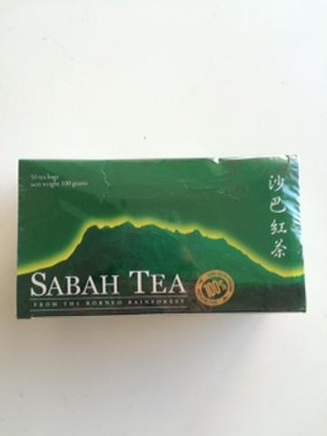 SABAH TEA             50 TEA BAGS