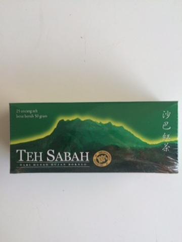 SABAH TEA             25 TEA  BAGS