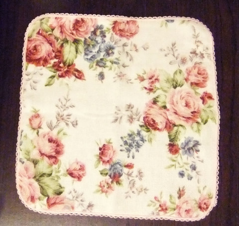 Towel Handkerchief (Rose)