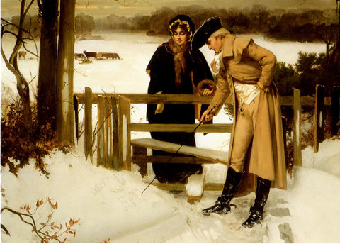 """Christmas Card """"The Lover's Vow"""""""