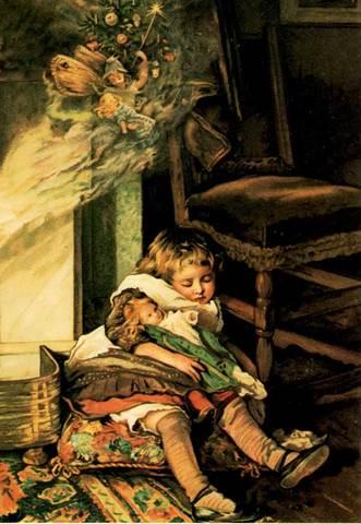 """Christmas Card """"A Christmas Fairy"""""""