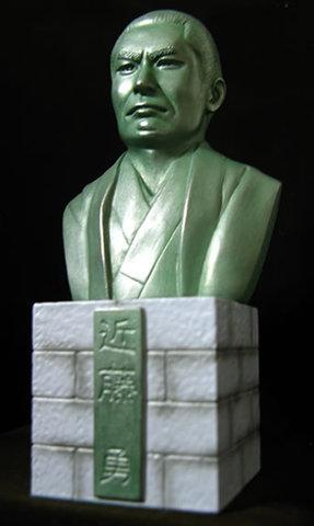 近藤勇-胸像