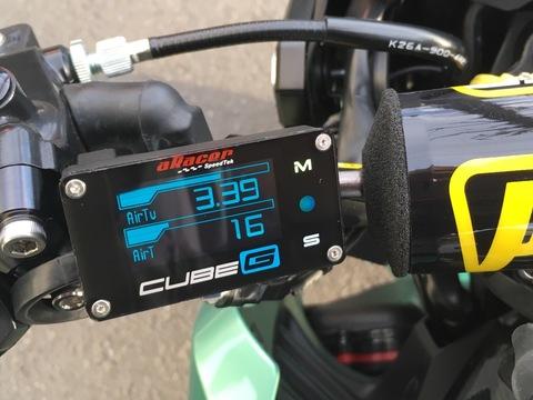 ARacer Cube-G Ultra Compact OBD Deta Gauge