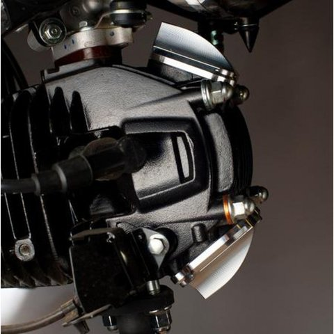 OTB Prototypes Shark Fins Valve Cover GROM/MSX125