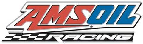 AMSOIL RACING ロゴ ステッカー(Lサイズ)