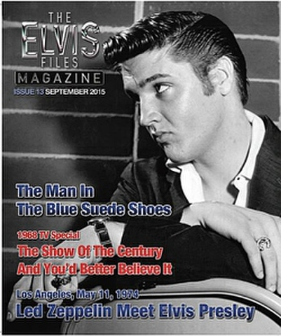 季刊写真誌『The Elvis Files Magazine』第13号