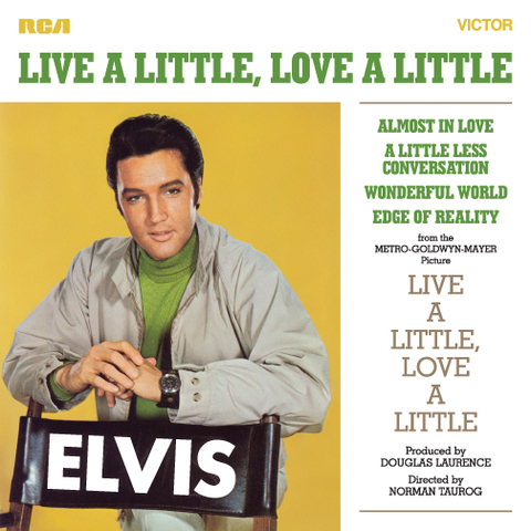 FTD-CD『Live A Little, Love A Little』(1-CD)