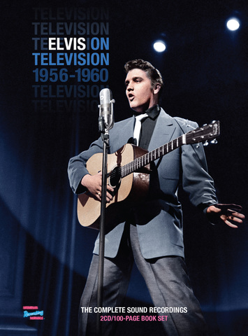 『Elvis On Television 1956- 1960 The Complete Soundtrack Recordings』(2CDs+book)